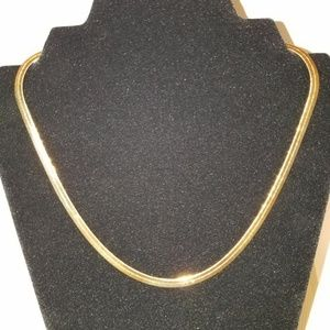 Jewelry - 14k Gold Filled Herringbone Necklace 20""